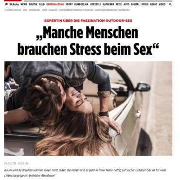2018-05-06 Bild online – Manche Menschen  brauchen Stress beim Sex