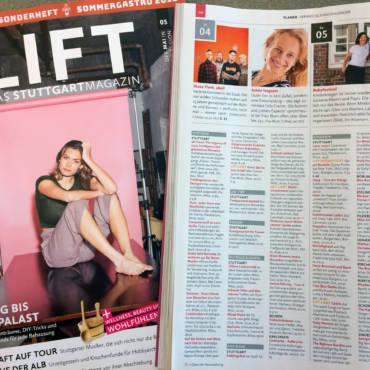 """Stuttgarter Lift Magazin über den """"SlowSex Vortrag"""" bei Frau Blum"""