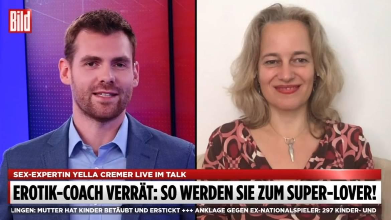 """21. 09.2020 Bild-TV: """"So werden Sie zum Superlover"""""""